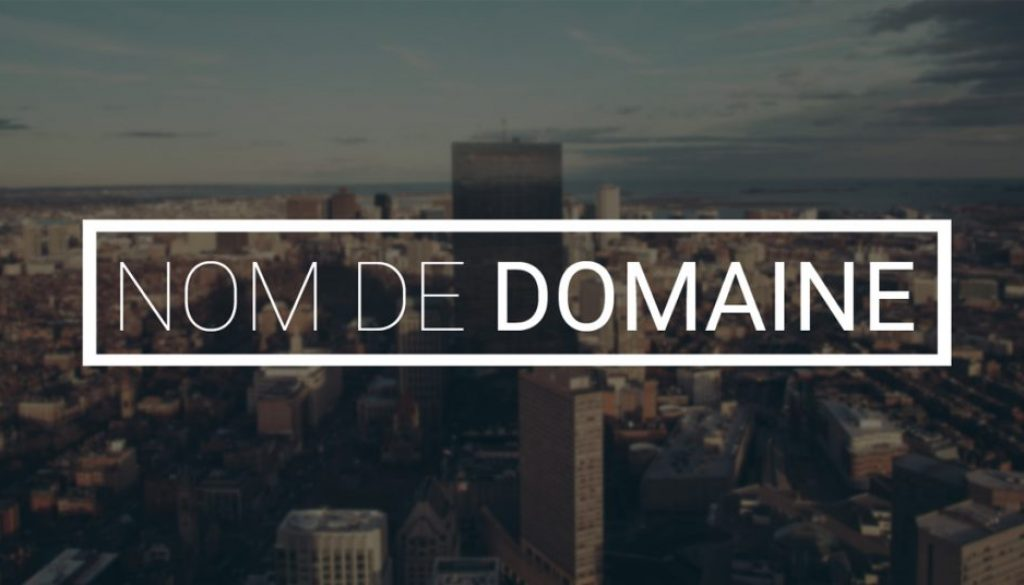 nom domaine web
